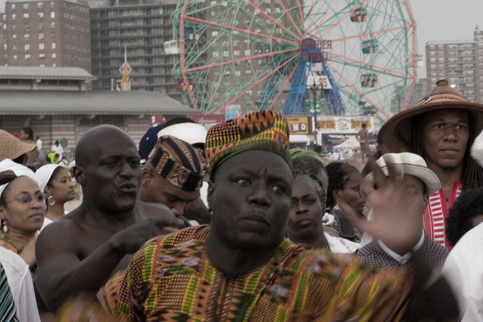 Coney Island Tribute to the Ancestors of the Middle Passage