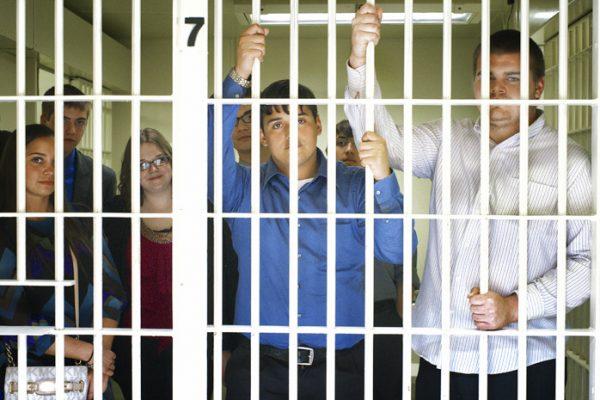 Local Kids Tour Jail